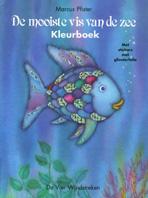 Kleurboek met stickers, De mooiste vis van de zee