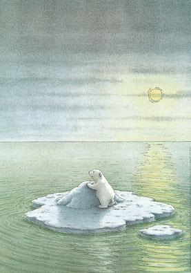Poster, Kleine IJsbeer