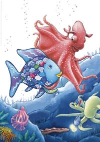 Poster, De mooiste vis zoekt zijn glinsterschub