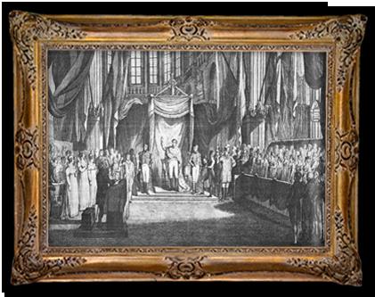 Inhuldiging koning Willem I