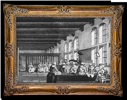 Gevangenen in het Spinhuis in Amsterdam