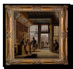 Boekwinkel 19e eeuw