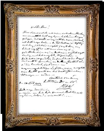 Brief uit het dossier van Maas