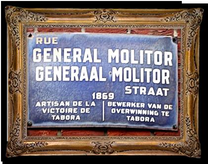 Straat in Brussel vernoemd naar generaal Molitor