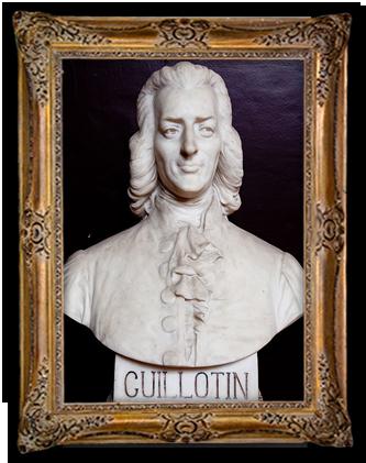 Standbeeld van Joseph Ignace Guillotin