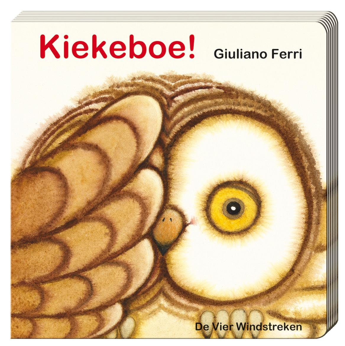 Kartonboek met flapjes, Kiekeboe!