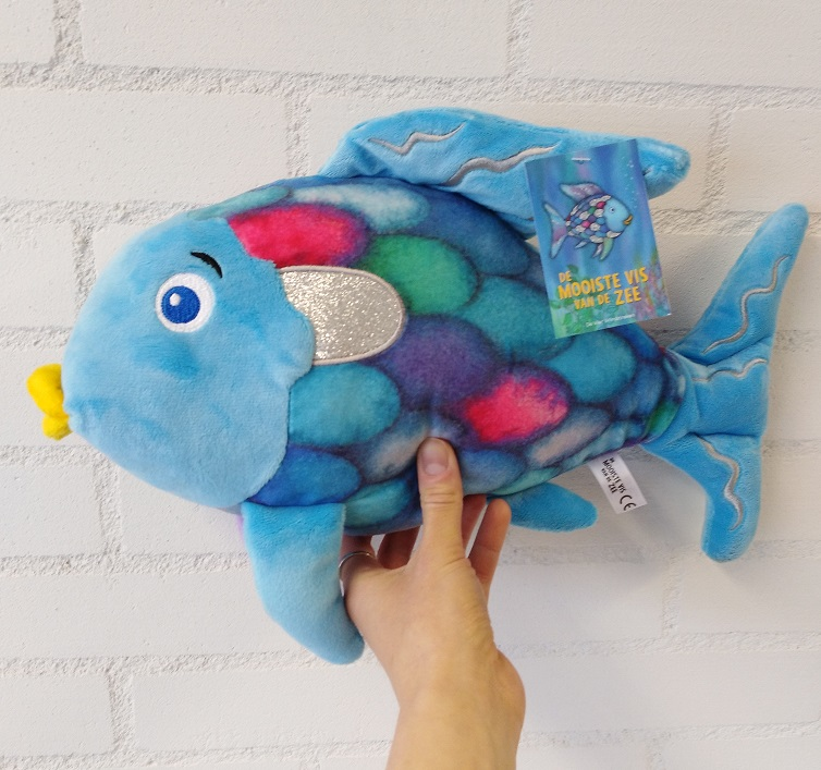 LIMITED EDITION Pluche De mooiste vis van de zee (37 cm)