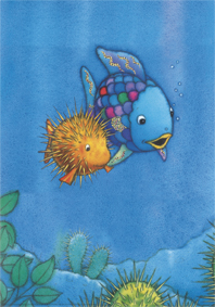 Poster, De mooiste vis komt veilig thuis