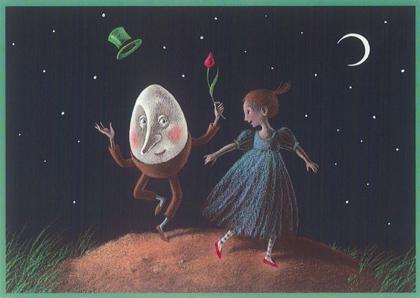Kaart 267: Laura en Humpty Dumpty