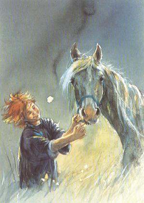 Kaart 249: Mijn paard, mijn vriend