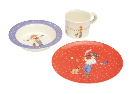 Kinder-eetset Belle & Boo Piraat