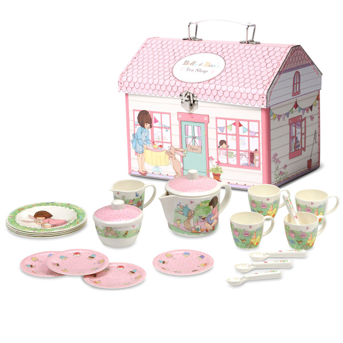 Kinder-theeset Belle & Boo huisje