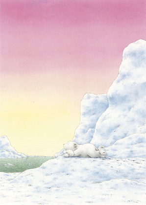 Kaart 139: Kleine IJsbeer avondrood