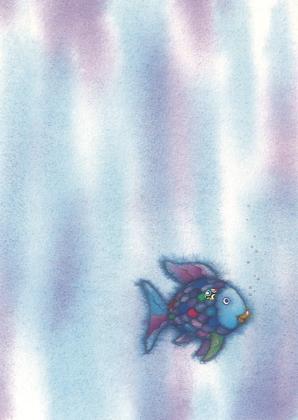 Prentbriefkaarten 10 ex., De mooiste vis van de zee