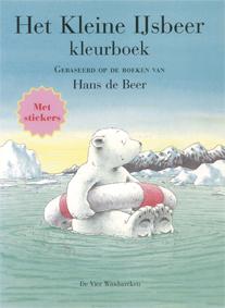 Kleurboek met stickers, Kleine IJsbeer