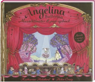Angelina Ballerina, muziektheater- en pop-upboek