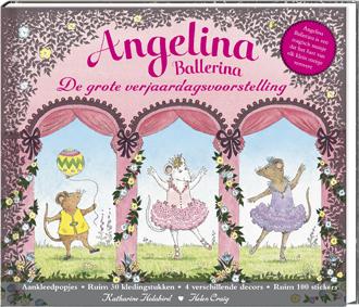 Angelina Ballerina. De grote verjaardagsvoorstelling