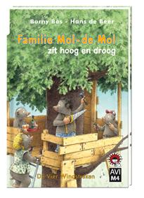 E-book, Familie Mol-de Mol zit hoog en droog