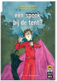 een spook bij de tent