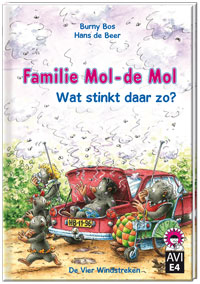 E-book, Familie Mol-de Mol. Wat stinkt daar zo?