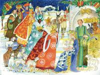 Adventskalender Drie koningen