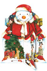 Adventskalender Sneeuwpop 3D