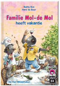 E-book, Familie Mol-de Mol heeft vakantie