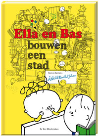 E-book, Ella en Bas bouwen een stad