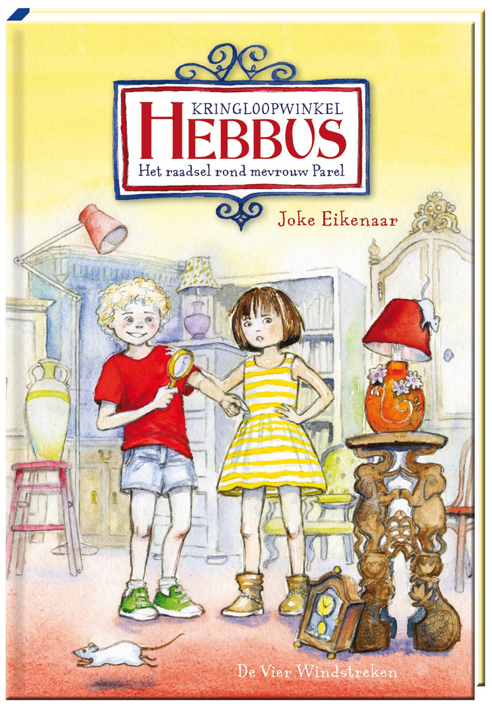 E-book, Hebbus. Het raadsel rond mevrouw Parel