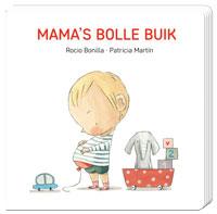 Kartonboek, mama's bolle buik