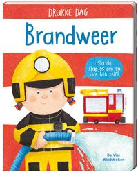 Drukke Dag. Brandweer, kartonboek