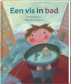 Een vis in bad