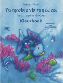 Kleurboek met stickers, De mooiste vis van de zee helpt zijn vriendjes