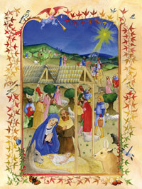 Adventskalender Aanbidding der herders