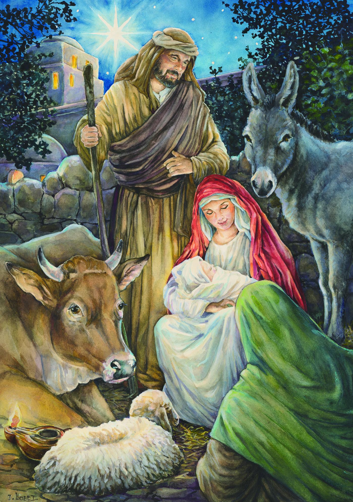Adventskalender Heilige nacht