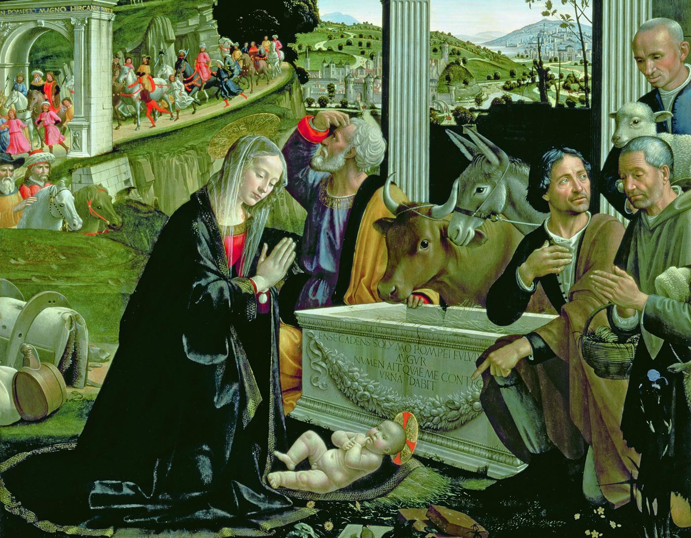 Adventskalender Aanbidding van de herders