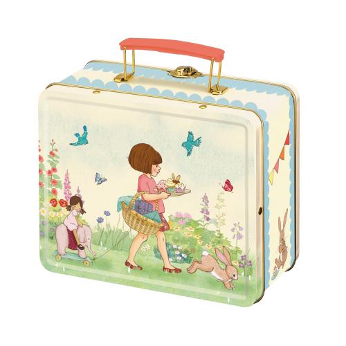 Lunchbox Belle & Boo Meisje met konijn