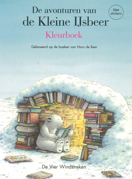 Kleurboek met stickers, De avonturen van de Kleine IJsbeer