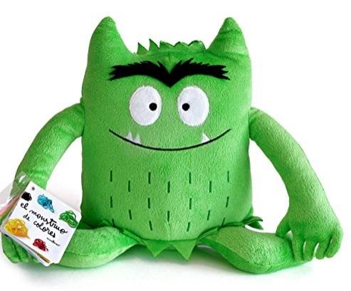 Pluche kleurenmonster groen (kalm)