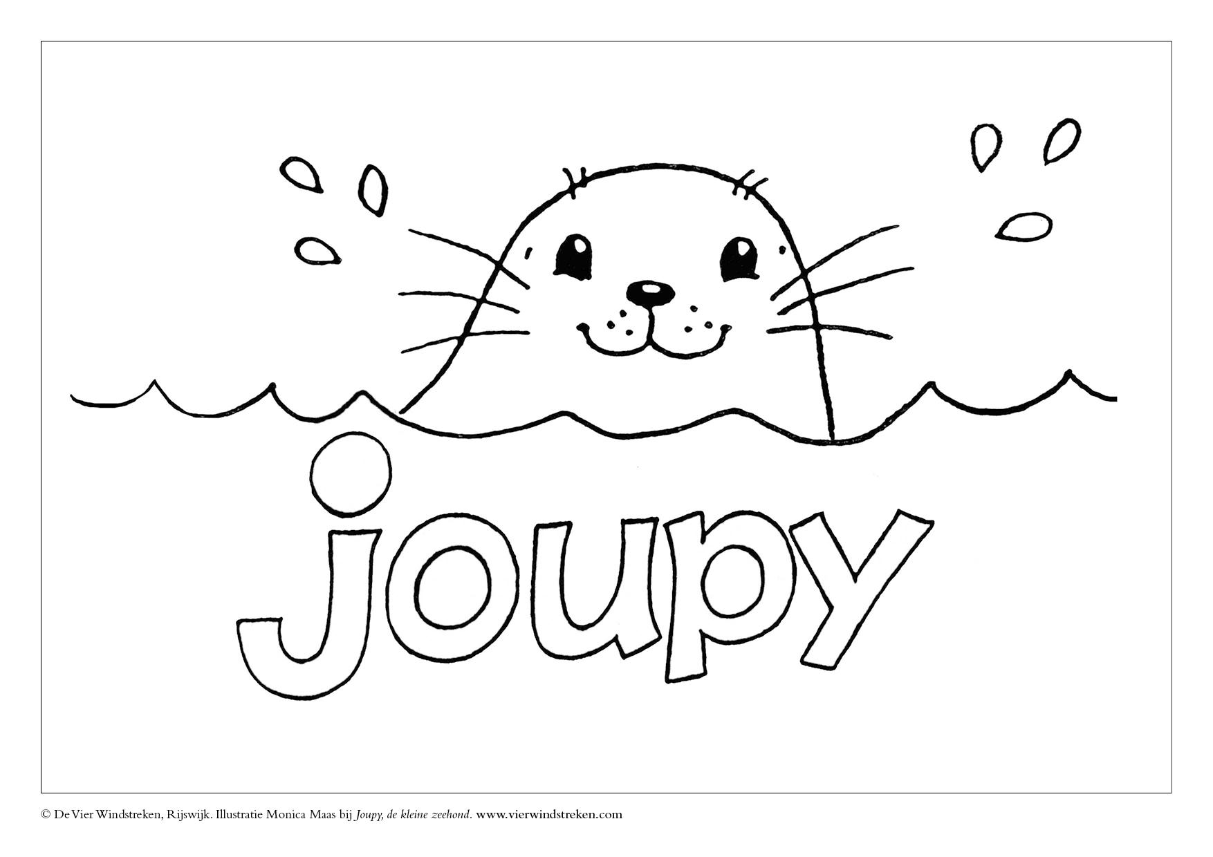 Kleurplaat Joupy