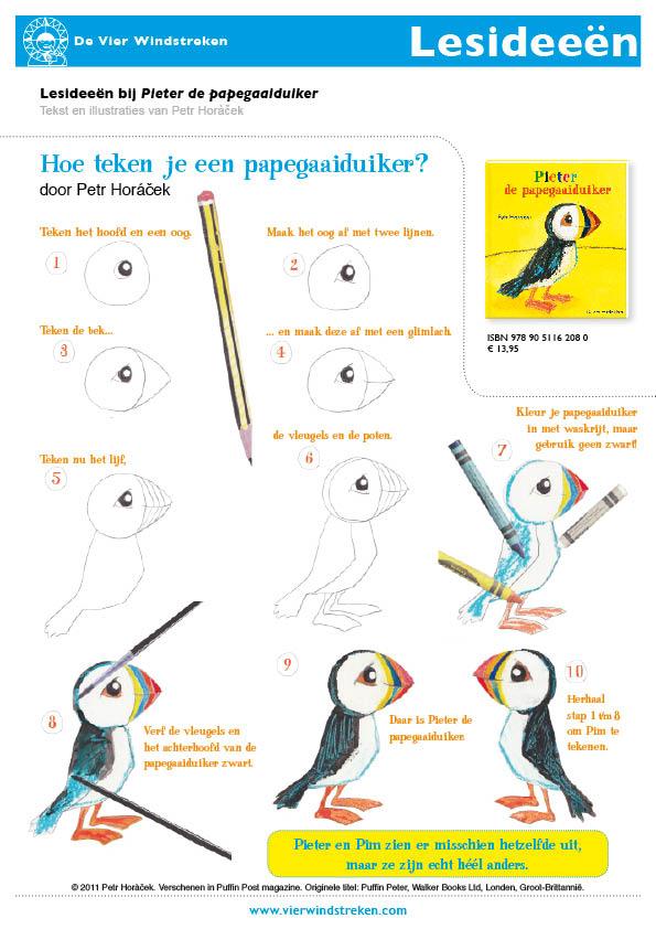 Lesidee Pieter de papegaaiduiker