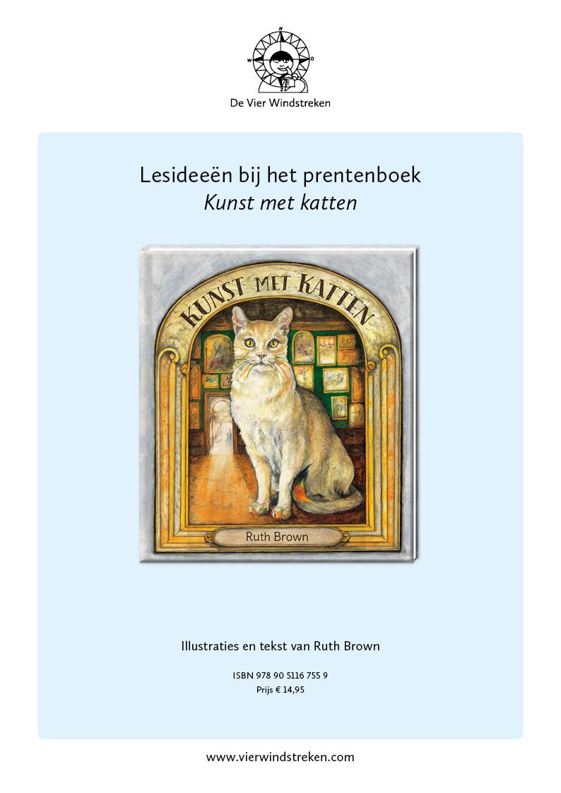 Lesidee Kunst met kattten