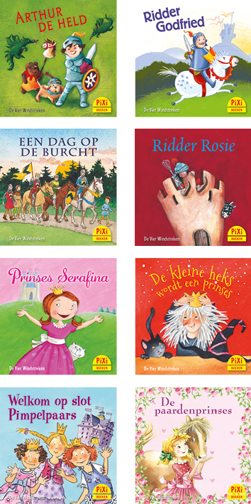 Pixi-serie 05 Ridders & Prinsessen