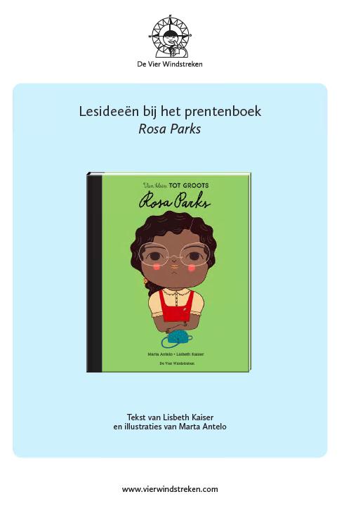 Lesideeën Van klein tot groots: Rosa Parks