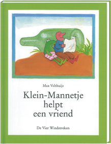 Klein-Mannetje helpt een vriend