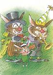Kaart 278: Rudolf en de muzikanten