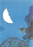 Prentbriefkaarten, De schat in het maanmeer