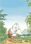 Prentbriefkaarten 10 ex., Bodo's vlieger