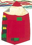 Prentbriefkaarten, Kleurpotlood