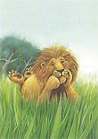 Prentbriefkaarten, Koning Lodewijk droomt